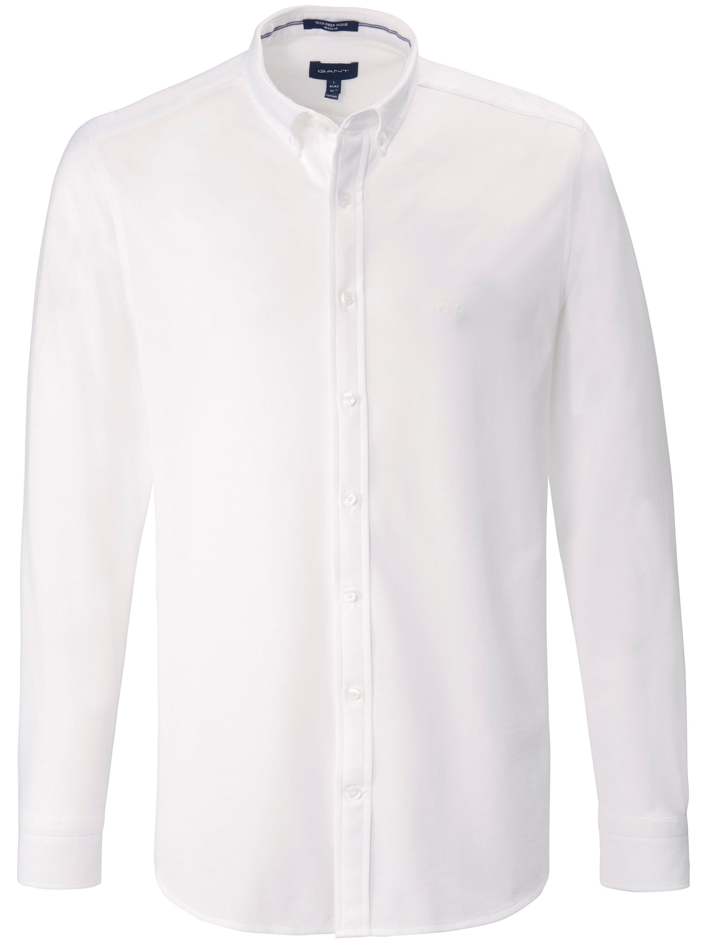 Overhemd Van GANT wit