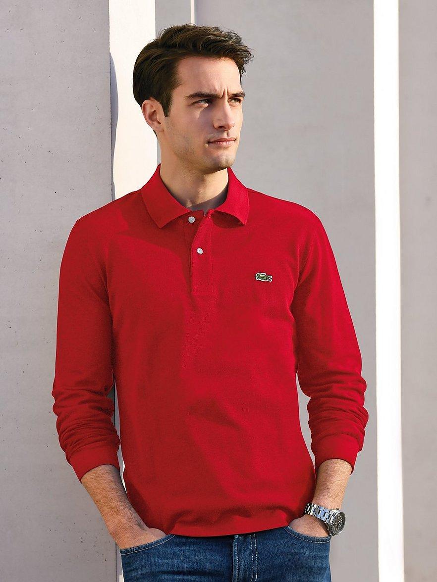 lacoste - Polo-Shirt - Form L1312  rot Größe: 58