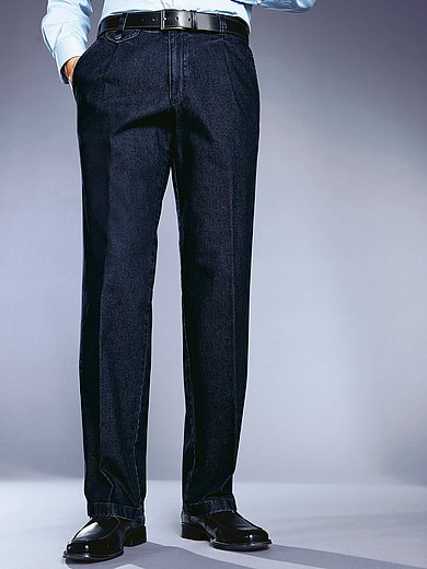 Eurex by Brax - Bandplooi-jeans model Fred met veiligheidszak