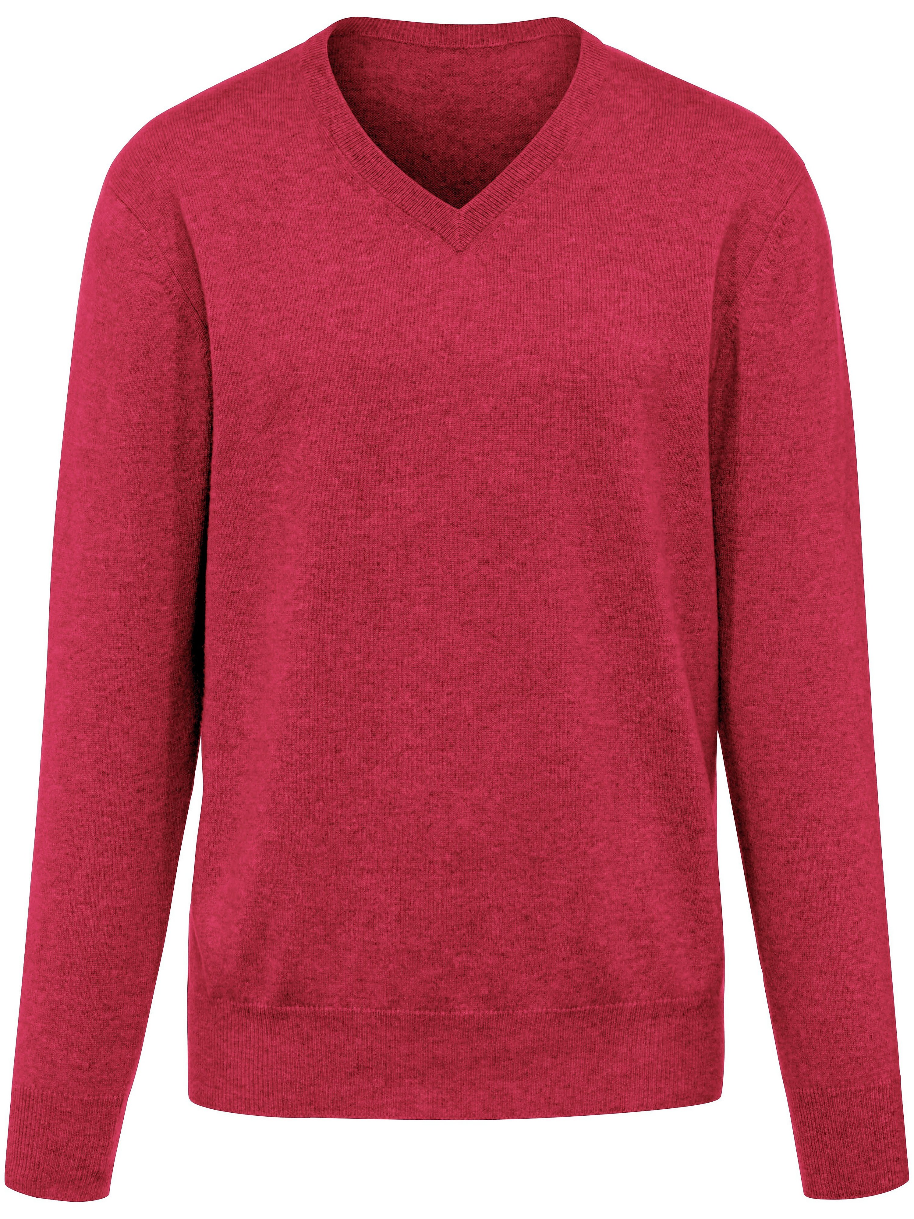Le pull col V 100% cachemire Cashmere rouge - Peter Hahn - Modalova