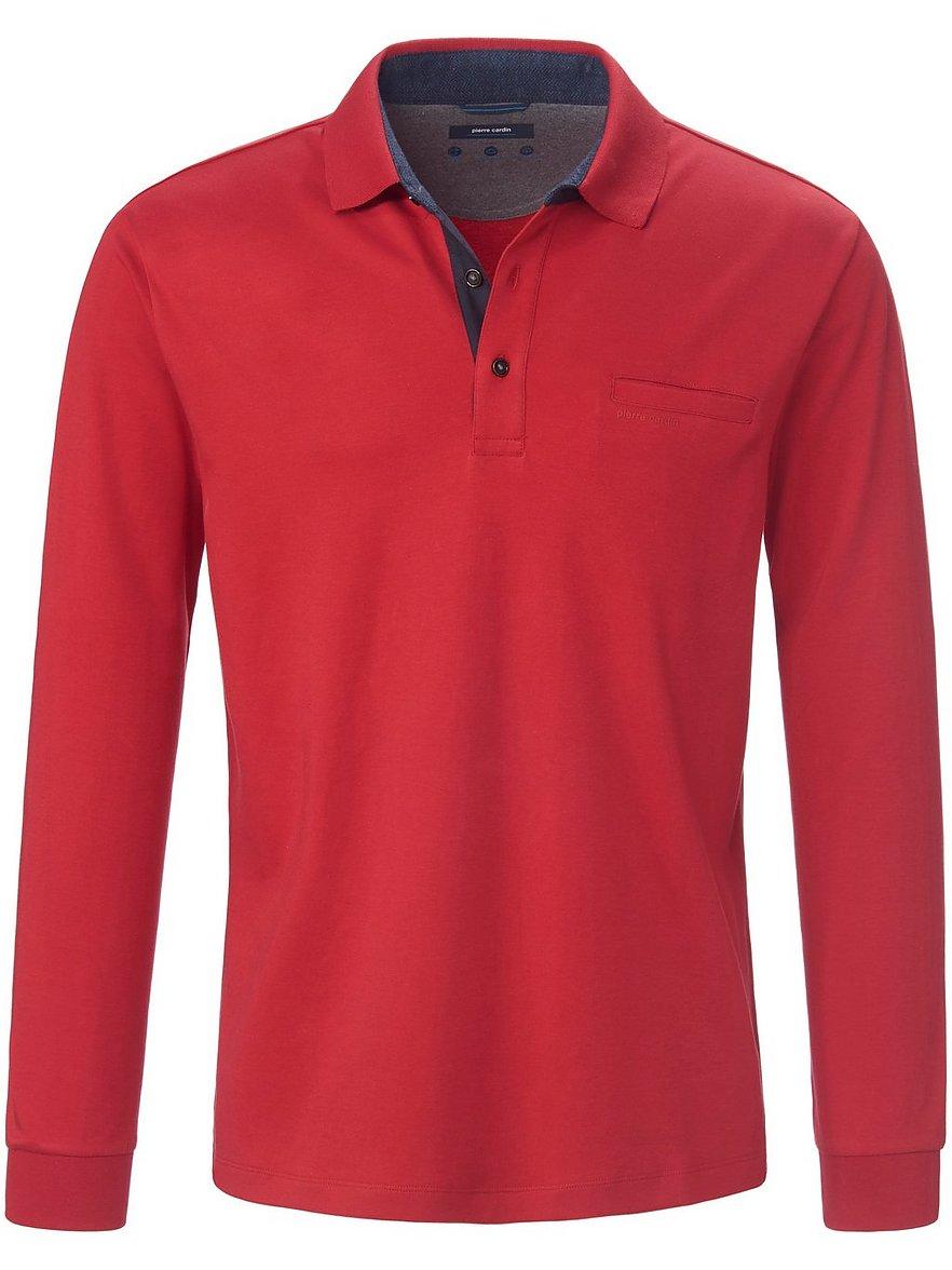 pierre cardin - Polo-Shirt  rot Größe: 48