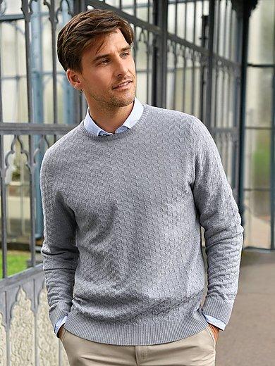 Peter Hahn - Le pull en pure laine vierge, col ras-de-cou