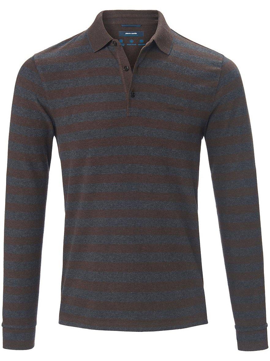 pierre cardin - Polo-Shirt  braun Größe: 54
