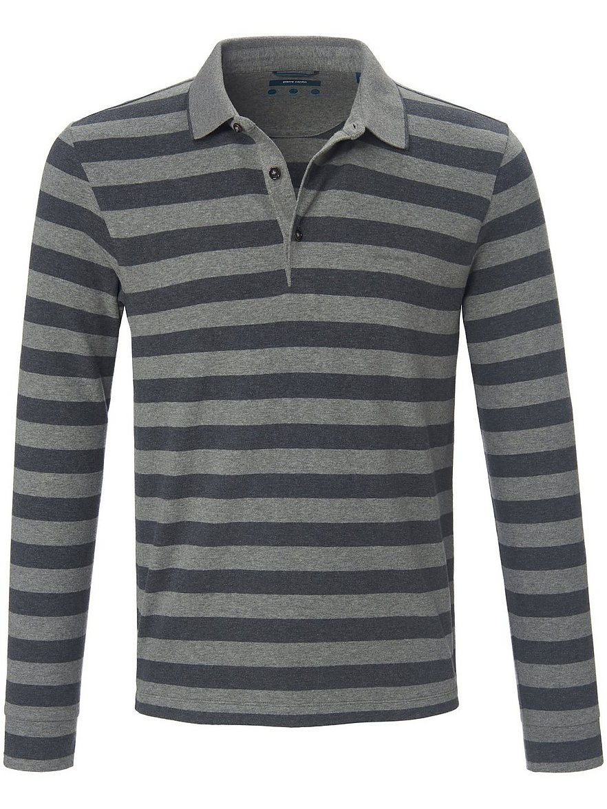 pierre cardin - Polo-Shirt  grau Größe: 56