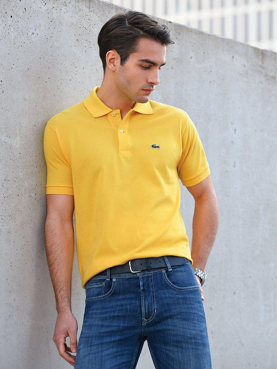 lacoste - Polo-Shirt  gelb Größe: 48