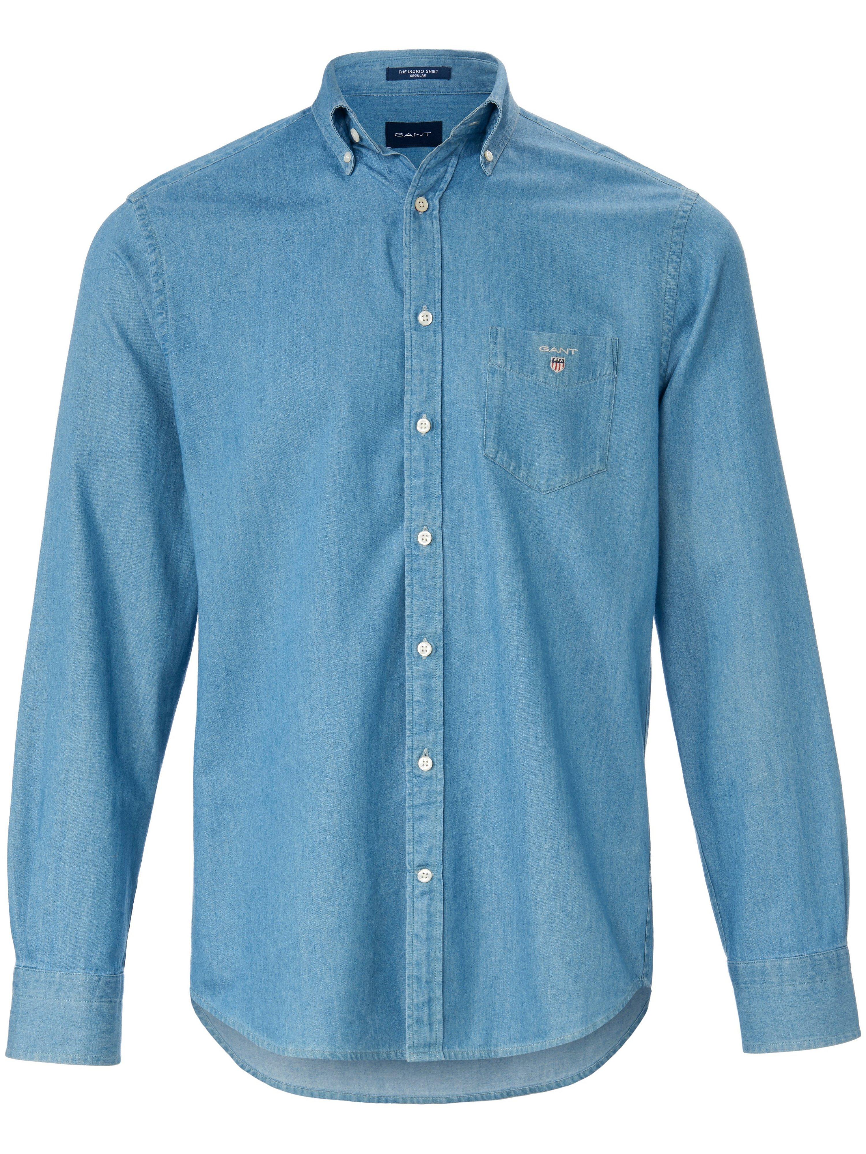 Jeansoverhemd Regular Fit 100% katoen Van GANT denim