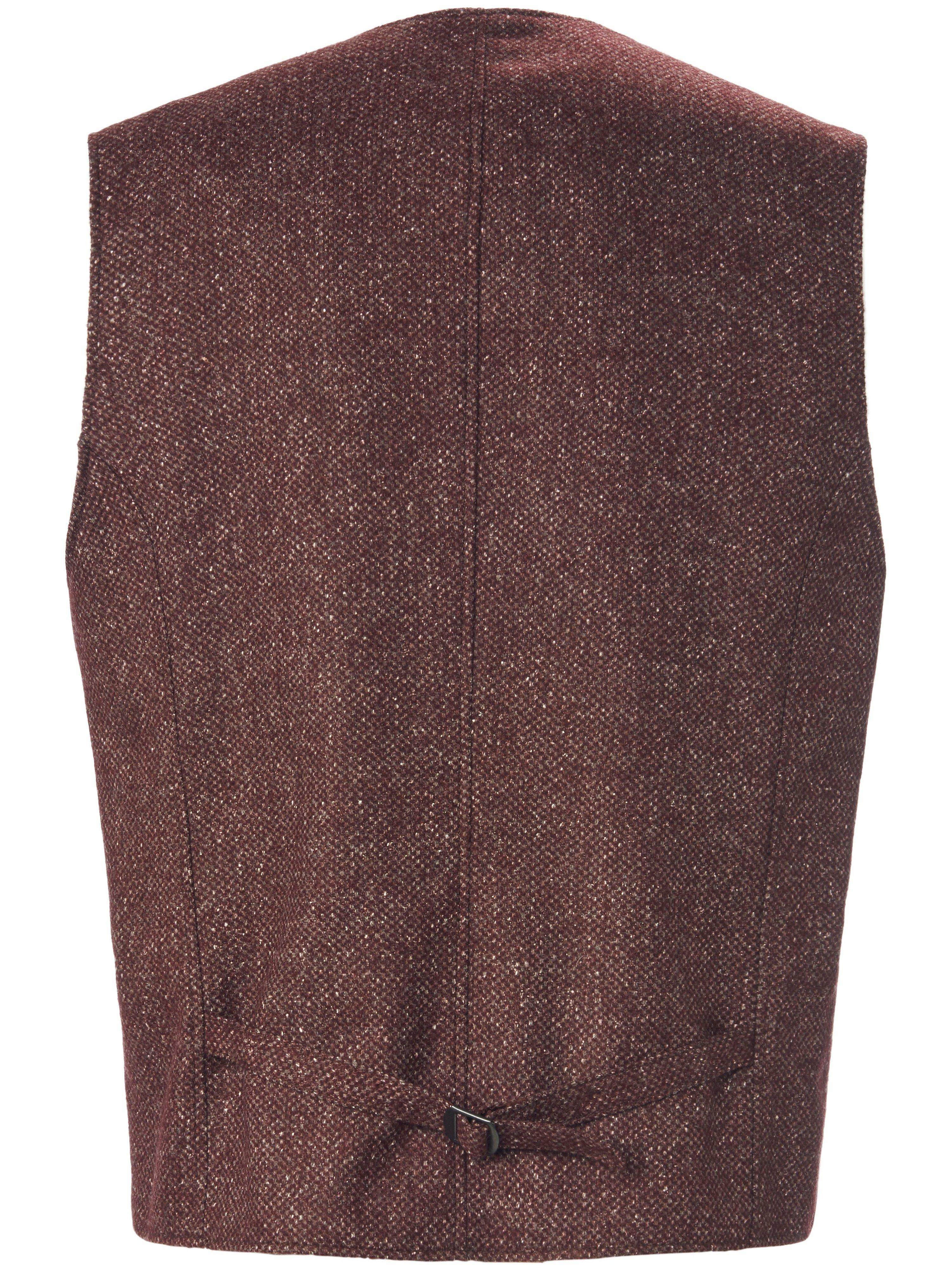 Tweedvest Fra Carl Gross rød