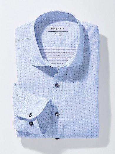 Bugatti - La chemise en pur coton, col à pointes