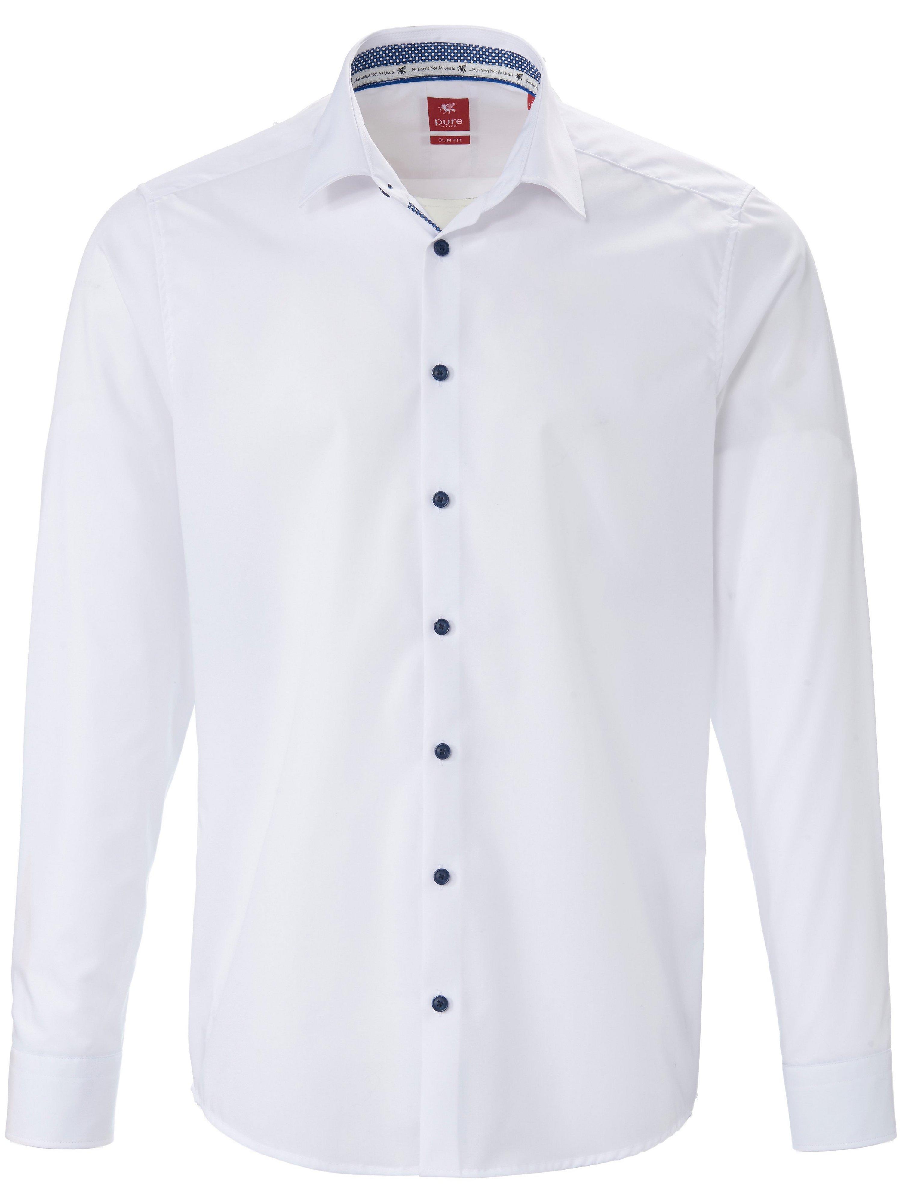 Modern fit overhemd Van Pure wit