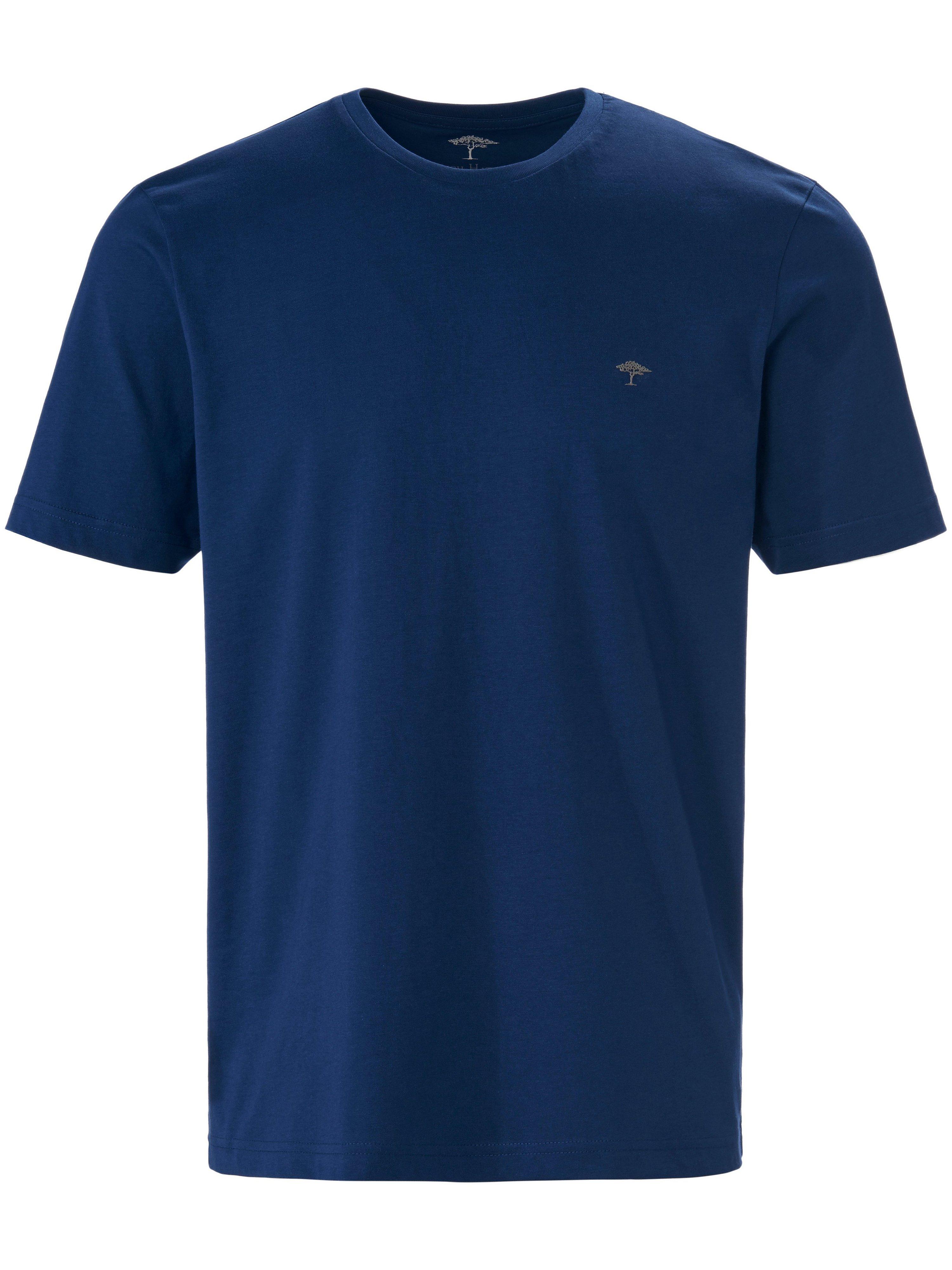 Shirt ronde hals Van Fynch Hatton blauw