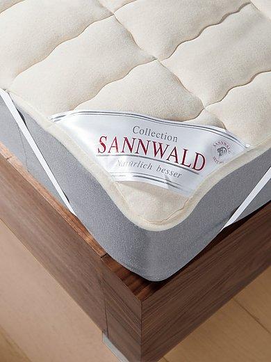Sannwald - Schurwoll-Spannauflage, ca. 90x200cm