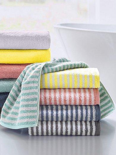 Cawö - La serviette éponge 100% coton env. 50x100cm