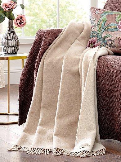 Biederlack - Le plaid en laine et cachemire env. 130x170 cm