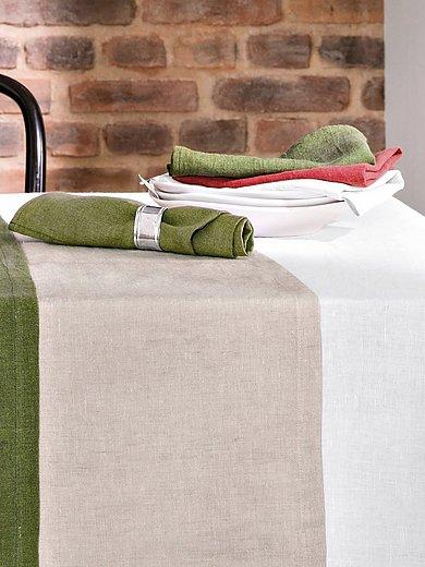 Proflax - Le lot de 2 serviettes env. 40x40cm