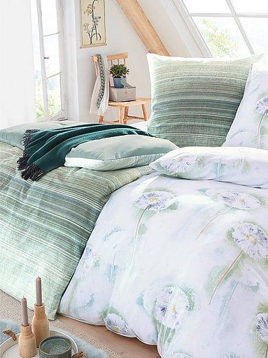 Irisette - 2-teilige Bettwäsche-Garnitur aus Mako-Satin