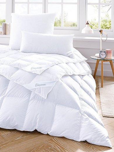 Kauffmann - Winter-Daunen-Bettdecke mit Innen- und Außensteg