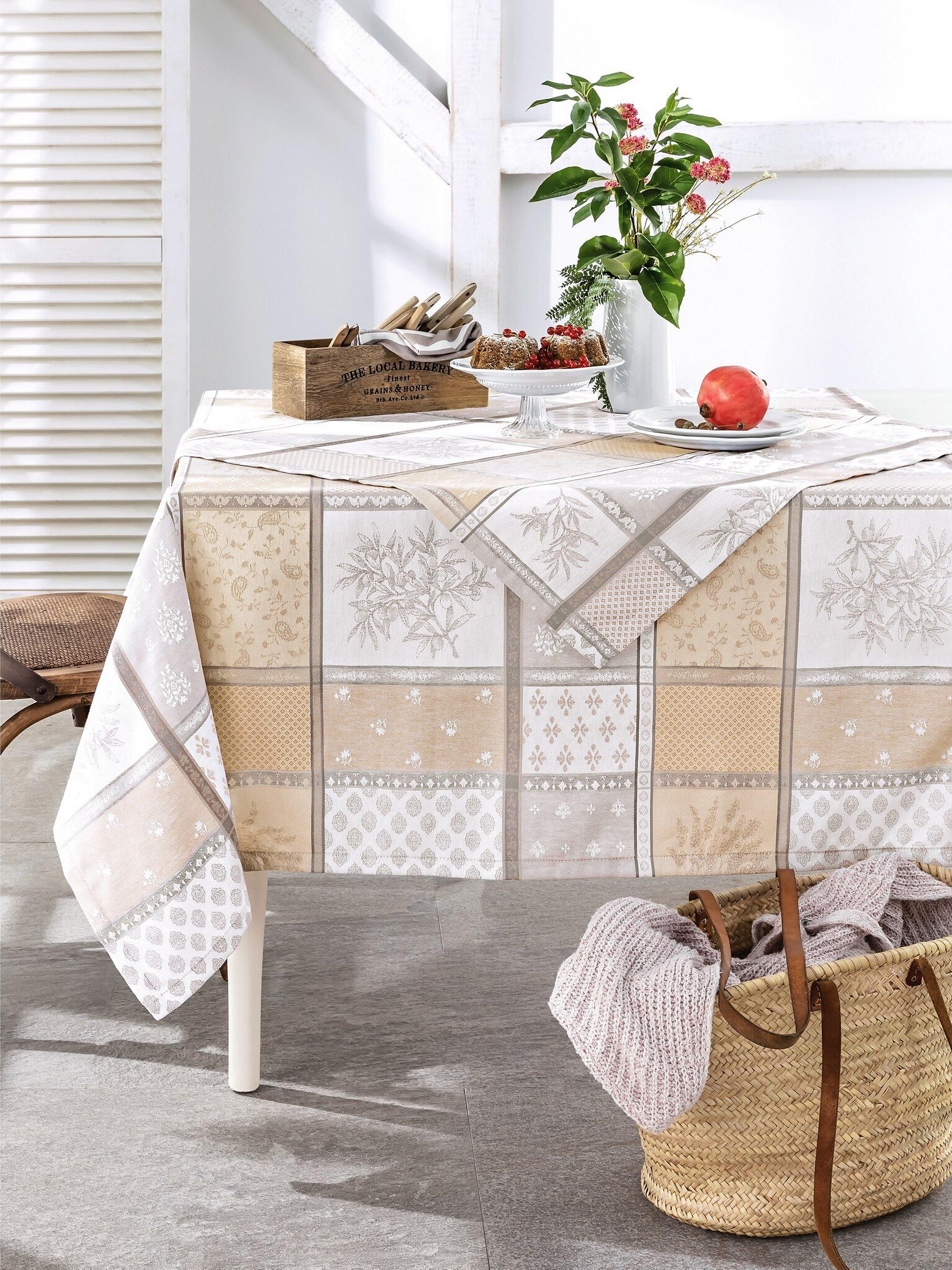 Mitteldecke ca. 85x85 cm Hossner beige | Heimtextilien > Tischdecken und Co > Tischdecken | Hossner
