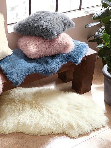 Luxor Living - Schaffell-Kissenbezug ca. 40x40cm