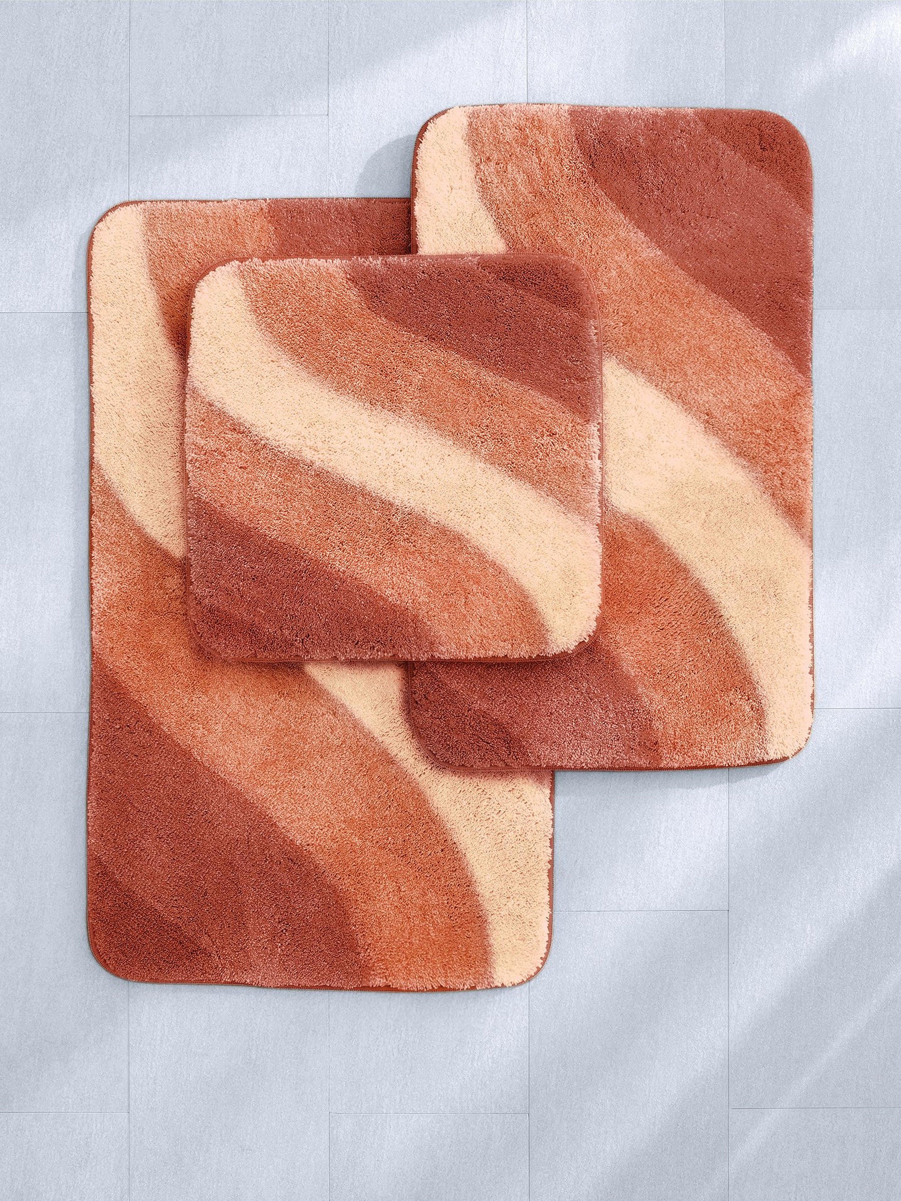 Mat voor hangend toilet, ca. 60x60 cm Van Grund oranje