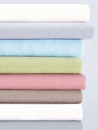 Schlafgut - Bio-Feinjersey-Spannbetttuch Organic Cotton
