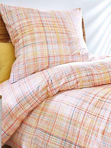 Schlafgut - Bettwäsche-Garnitur ca. 135x200cm / 80x80cm