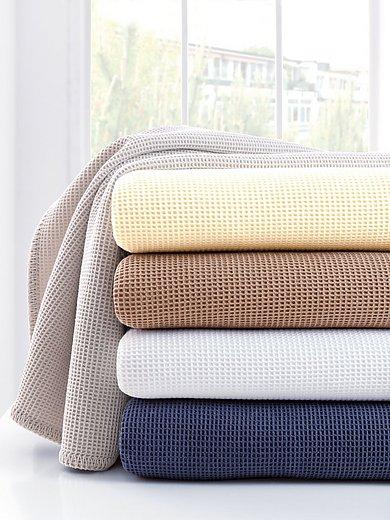 Dormisette - Pique-Decke aus reiner Baumwolle