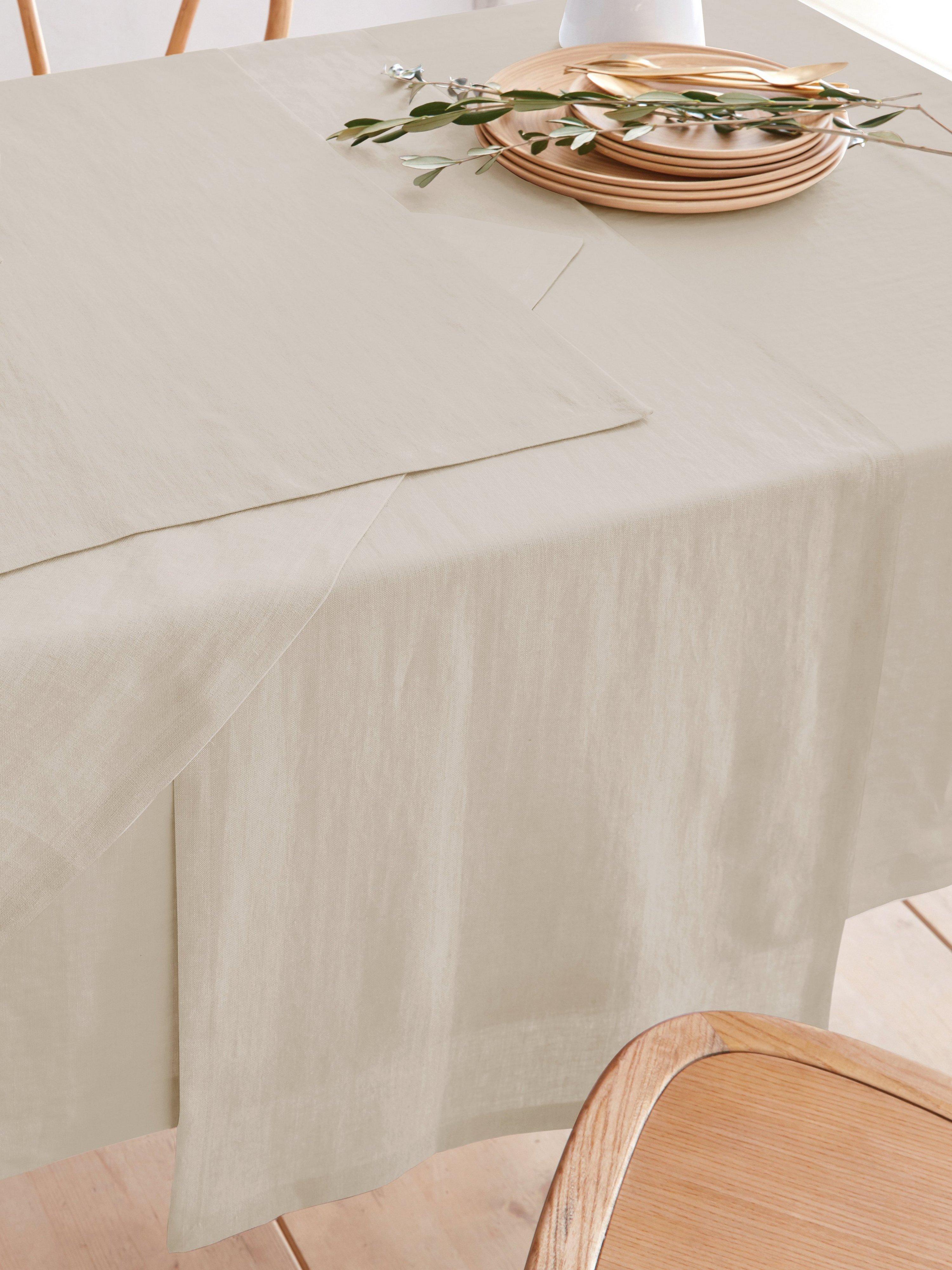 Tafelloper ca. 50x140 cm Van Sander beige