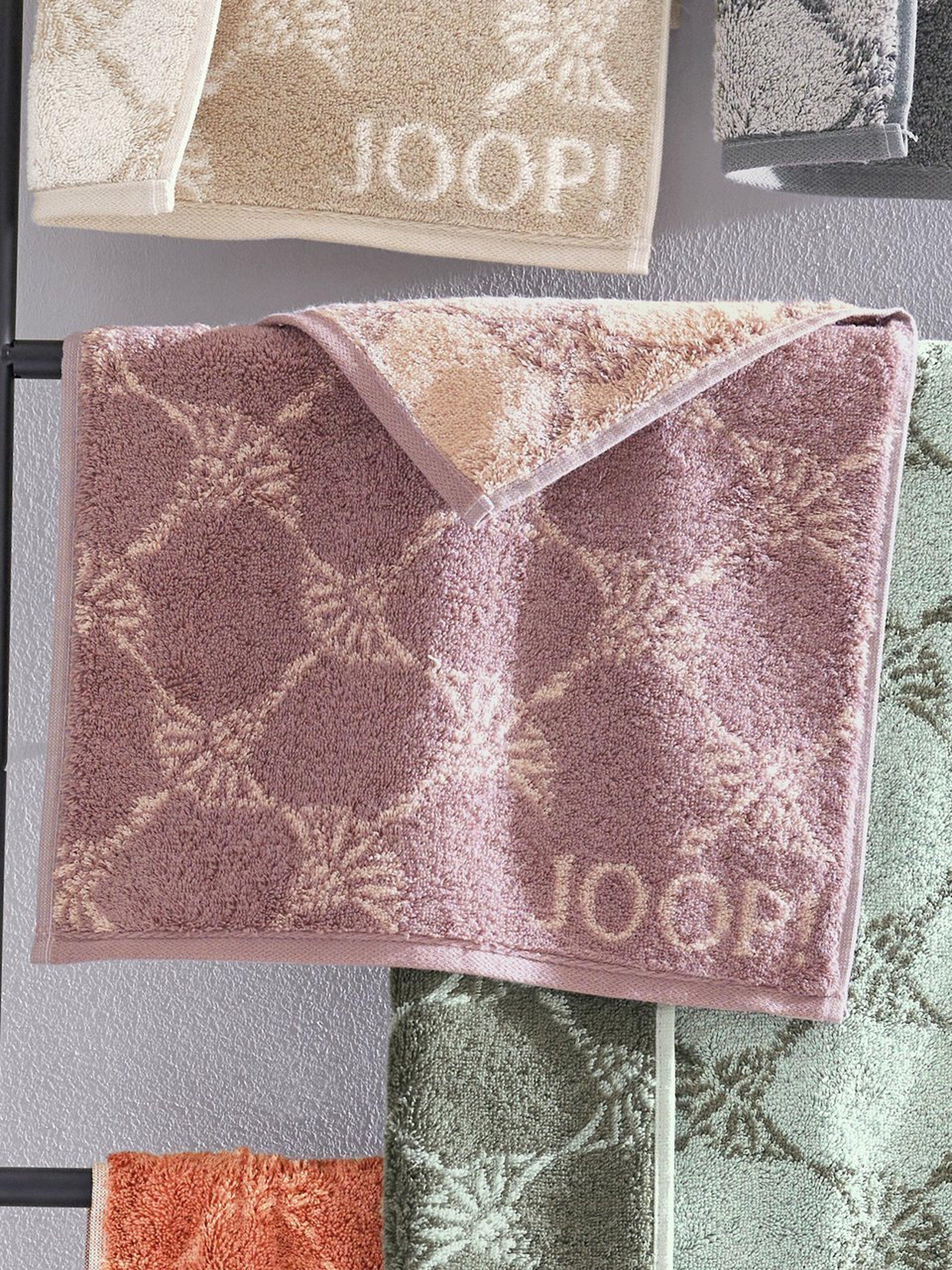 Handdoek ca. 50x100 cm Van Joop! paars