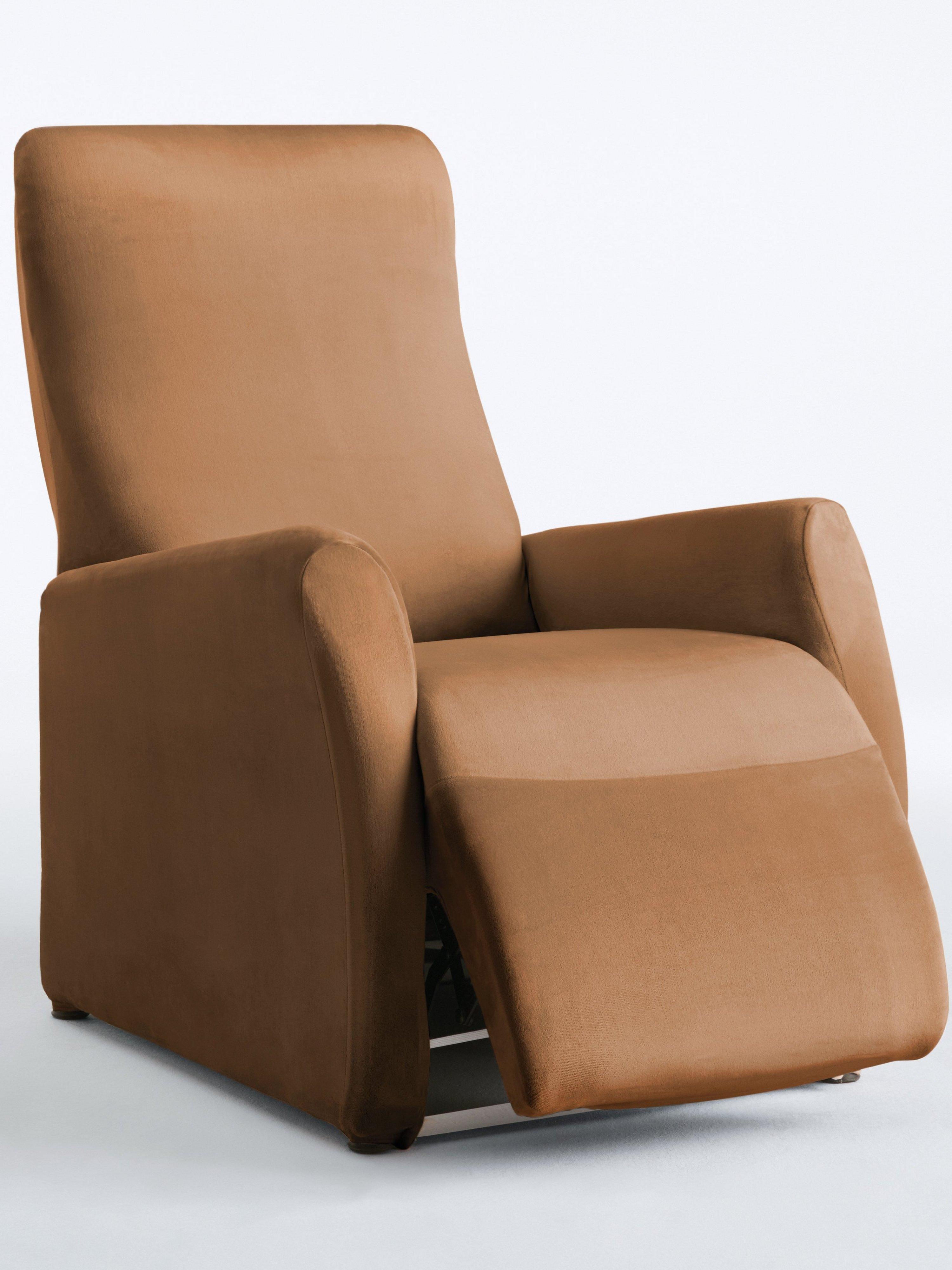 Hoes voor relaxfauteuil ca. 90-100x60−70cm (hxb) Van Peter Hahn bruin