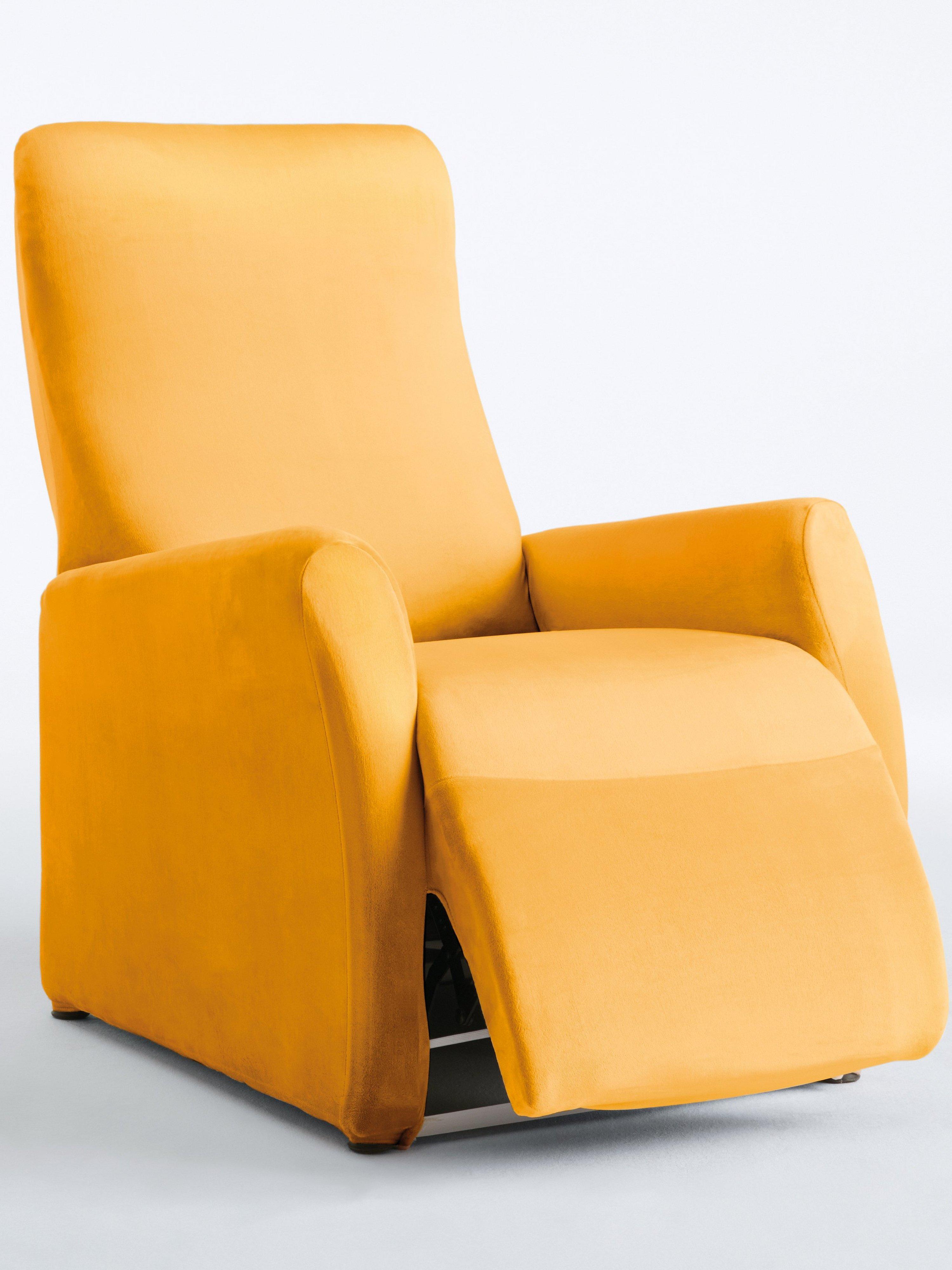 Hoes voor relaxfauteuil ca. 90-100x60−70cm (hxb) Van Peter Hahn geel