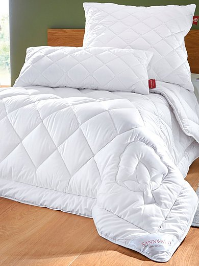 Sannwald - Sommer-Bettdecke Bio-Baumwolle ca. 135x200cm