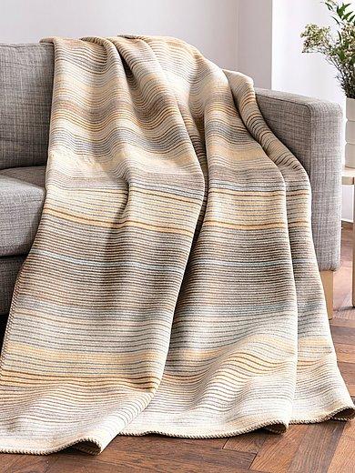 Biederlack - Wohndecke mit Baumwolle