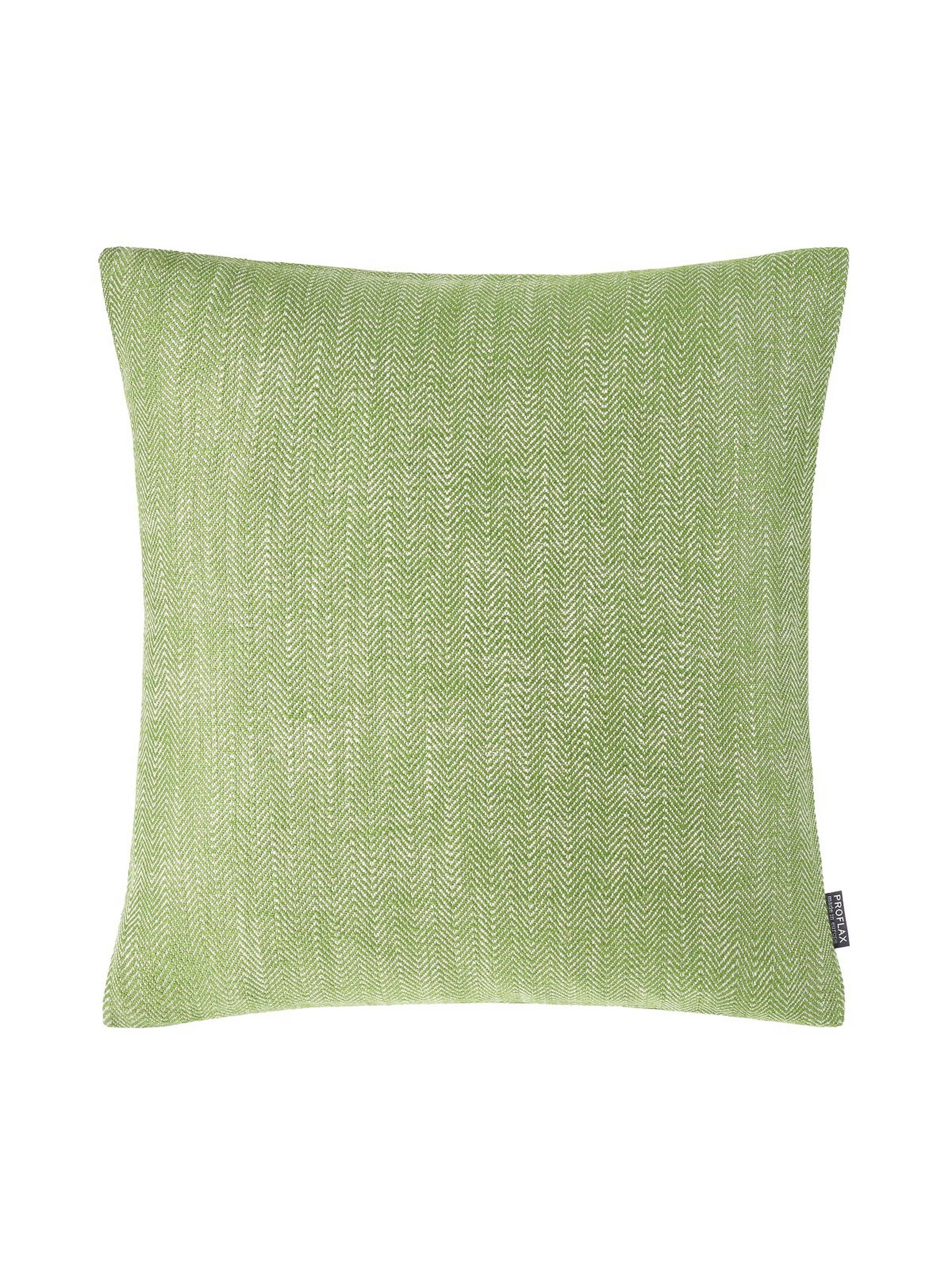 Kussenovertrek Comma, ca. 50x50 cm Van Proflax groen
