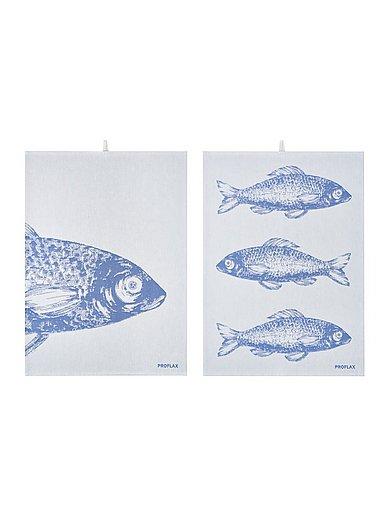 Proflax - Le torchon Poisson, env. 50x70 cm