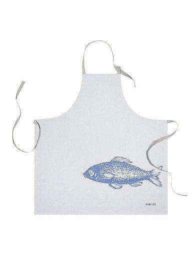 Proflax - Le tablier de cuisine Poisson, env. 80x80 cm