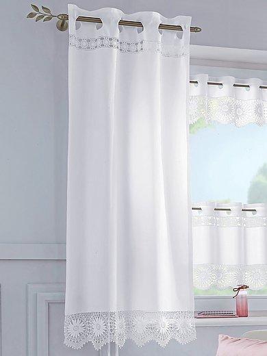 Hossner - Le rideau opaque avec broderie, 70x150 cm