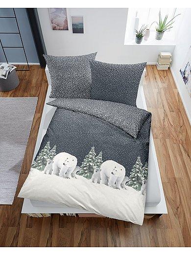 Dormisette - Biber Bettwäsche-Garnitur