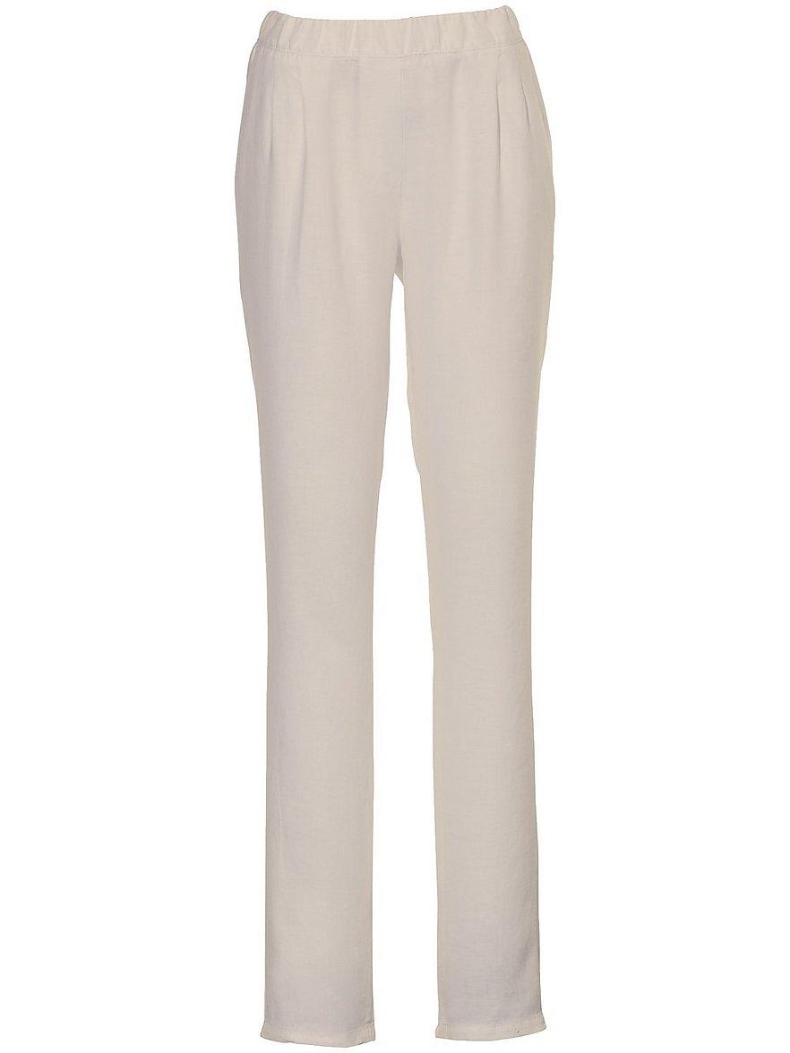 peter hahn - Schlupf-Hose im Chino-Stil  beige Größe: 42