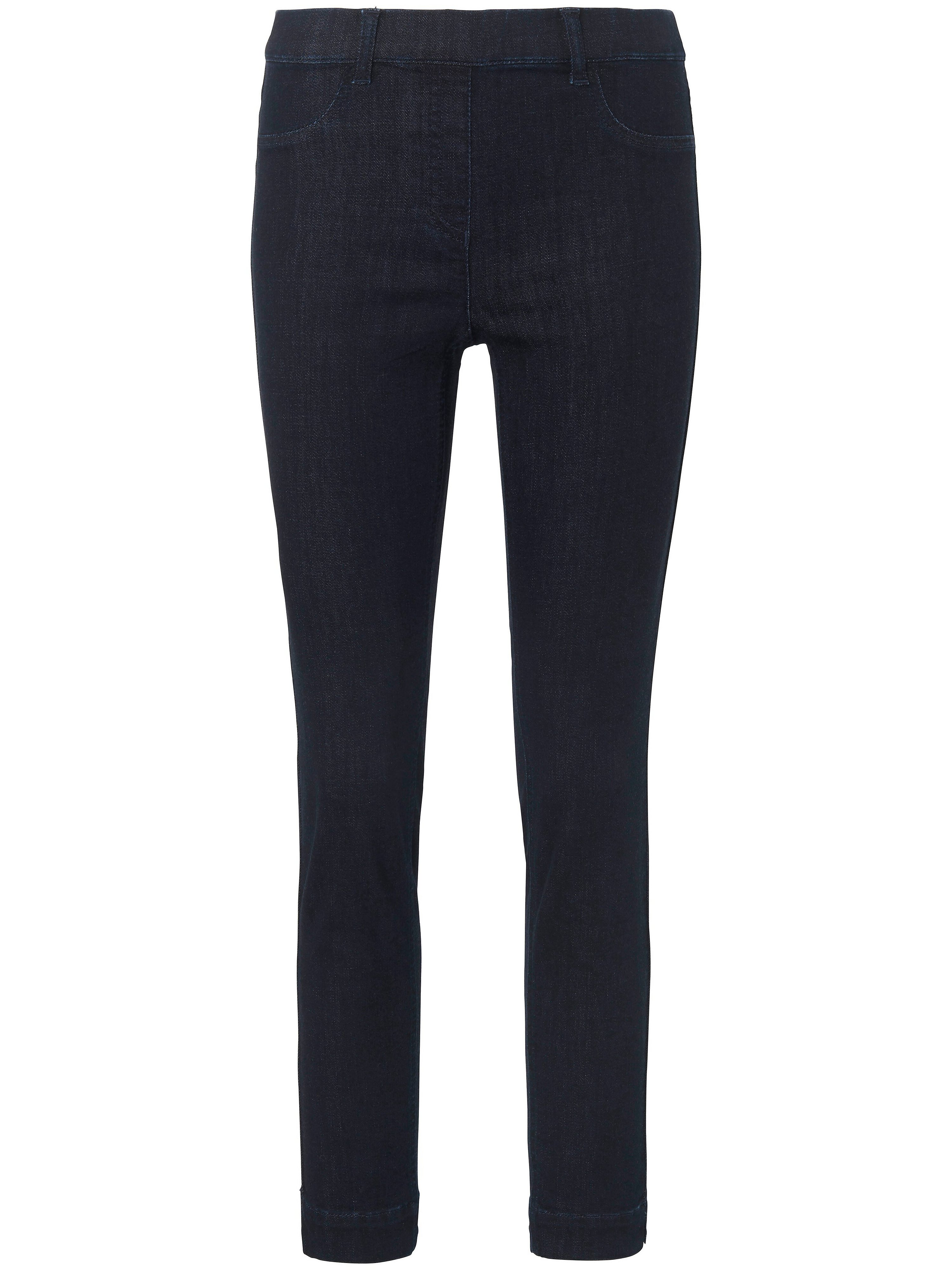 Ankle-length pull-on jeans Sylvia fit Peter Hahn denim