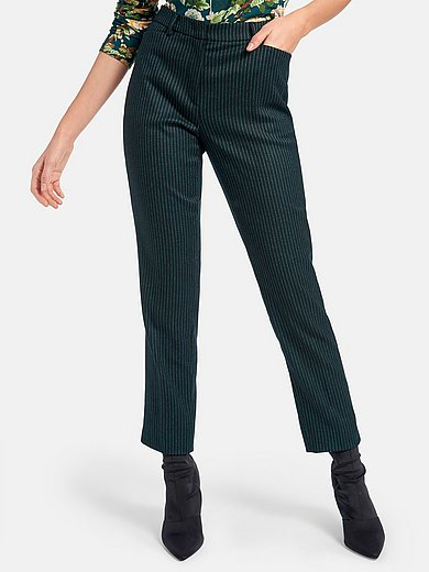 St. Emile - Ankle-length trousers with permanent crease