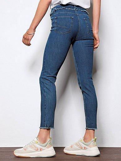 DAY.LIKE - Enkellange Slim Fit-jeans met riemlussen