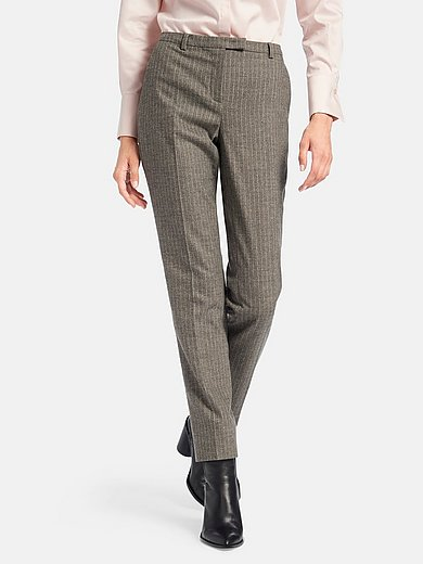 Fadenmeister Berlin - Ankle-length trousers with pinstripes