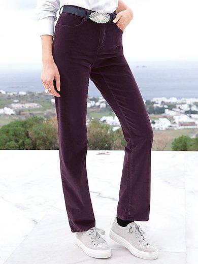 Brax Feel Good - Feminine Fit-sportfluweelbroek model Carola