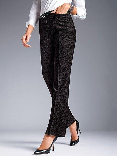 Peter Hahn - Tweed-Hose mit Bügelfalten