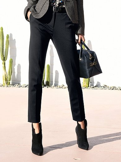 St. Emile - Ankle-length jersey trousers in narrow cut