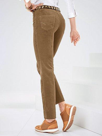 Brax Feel Good Corduroy trousers design Carola beige