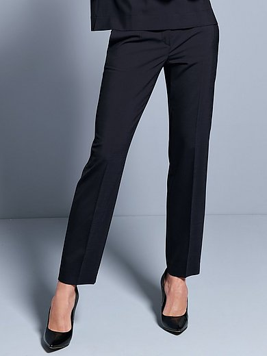 Windsor - Trousers with permanent crease