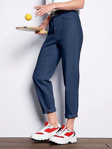 DAY.LIKE - Ankellange jeans i gulerodssnit