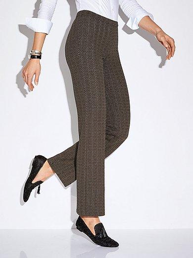 Peter Hahn - Pull-on tweed trousers Barbara fit
