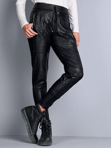 Raffaello Rossi - Jersey broek model Candy in jogg-pant-stijl